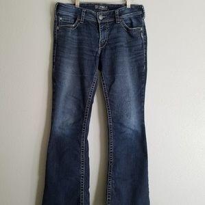 Silver Suki Surplus Low rise Bootcut Jeans